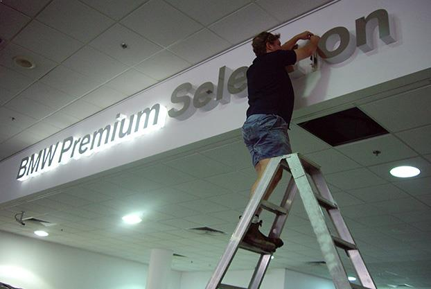 Signage Design and Installation NYC